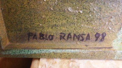 """OLEO """"ESPERANDO"""" PABLO RANSA 98"""