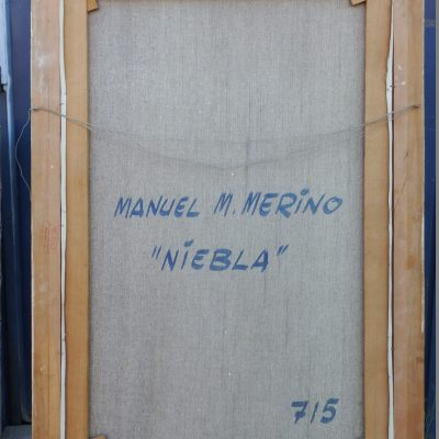 OLEO SOBRE LIENZO MANUEL M. MEDINA.