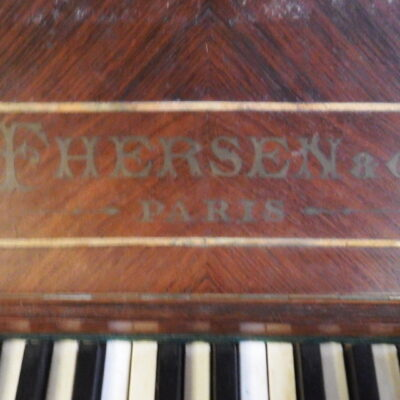 PIANO FRANCÉS ANTIGUO «THERSEN & CIE»